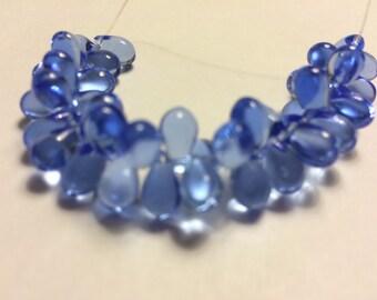 Blue Teardrops