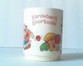 1980 Kids Strawberry Shortcake Cup
