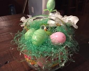 Owl's Nest candy basket