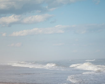 Coastal Photography, North Carolina, Ocean Photography, Wave Art