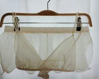 Windflower lingerie set