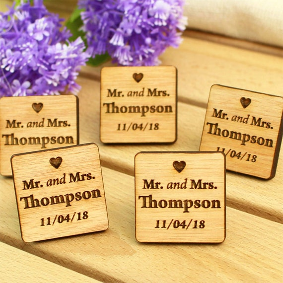Wedding Favors Tags Singapore : Wedding favour tag wood wedding favor wedding tag custom tag wood ...