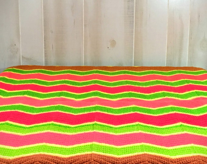 Vintage Crochet Decorative Throw - Sofa Throw Cover