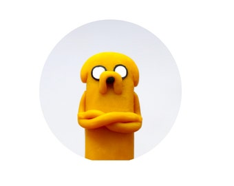 USB flash drive Adventure time, Jake the dog, back to school , polymer clay usb