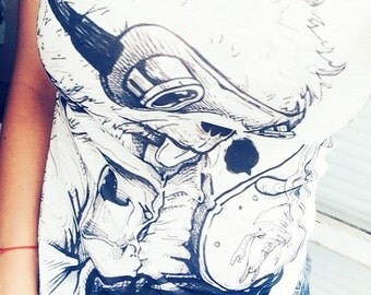 T-shirt with rabbit