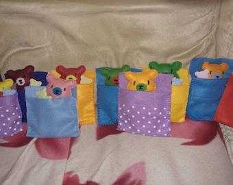 Bears in Sleeping Bags