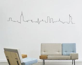 Sticker wall New York City