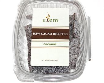Cacao Brittle - Coconut, Nibs