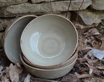 Handcrafted Rustic Bowls