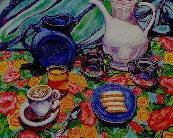 CAFE LATTE MORNING