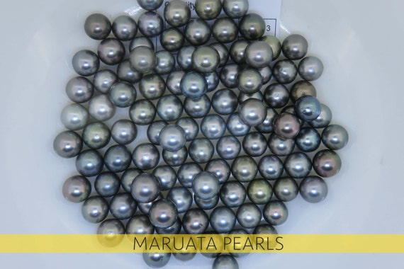 perles de tahiti ronde pr s de forme lumi re multicolore a. Black Bedroom Furniture Sets. Home Design Ideas