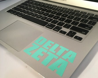 Delta Zeta Block Decal