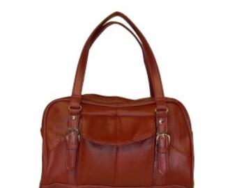 Cowhide Leather Handbag LICA-550c