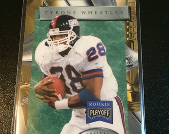1996 Playoff Corp. - Rookie Tyrone Wheatley - NY Giants - I will NOT be relisting this item