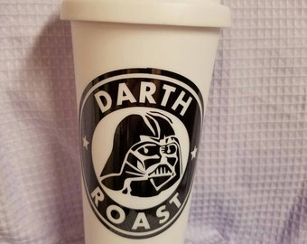 Spoof Darth Roast Travel Cup