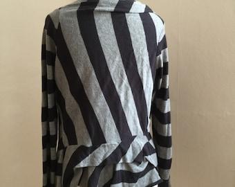 All saints striped cardigan