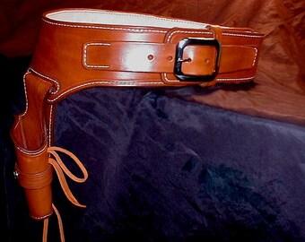 HOLLYWOOD WESTERN HOLSTER By Skincarvers Gunsmoke Replica