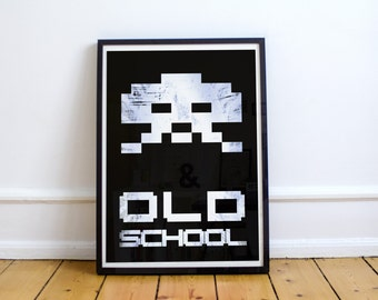 Space Invaders Poster Print