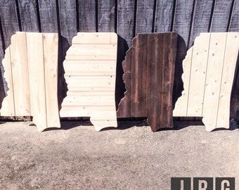 2 ft Planked Mississippi Cutout