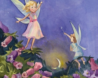 Christmas painting, Christmas card, Custom gift, Custom painting, Watercolor painting, Painting for children, Children illustration