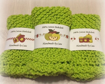 Apple Dishcloth/Washcloth Label Wrapper - PDF FILE ONLY