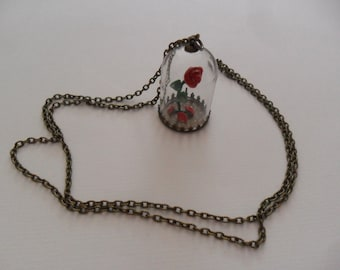 """Necklace """"Beauty & the Beast"""""""