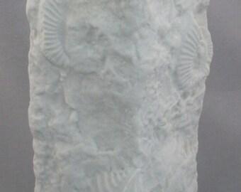 Kaiser Germany Porcelain Fossil Vase, Mid-Century Modern, Mint c.1970