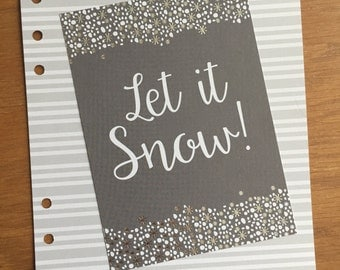 Let It Snow A5 Dashboard