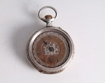 Vintage Old Swiss Made Hand Winding Pocket Watch.
