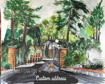 5x7 custom home potrait