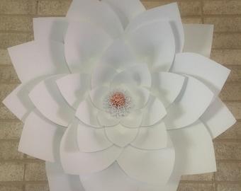 Handmade paper Lotus flower