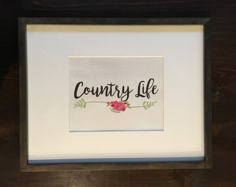Country Life (Print)