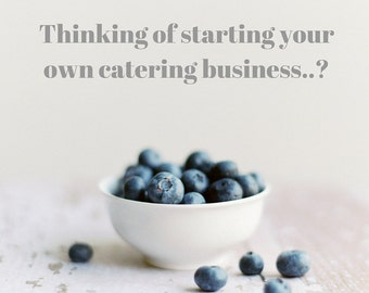 4 Hours Consulting/Coaching for Your New or Established Catering Business
