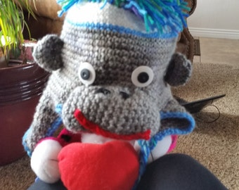 boys monkey hat