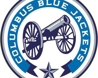Columbus Blue Jackets NHL Decal/Sticker