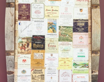 Vintage Wine Label Art