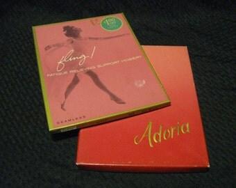 Vintage Hosiery Fling and Adoria