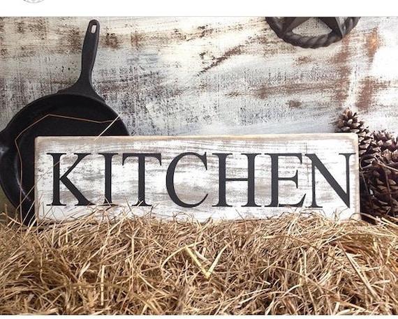Rustic Kitchen Sign Kitchen Sign Rustic Kitchen Decor
