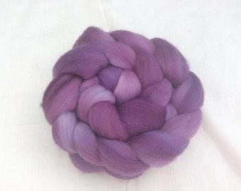 Hand dyed Corino wool tops