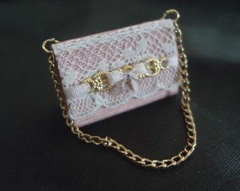 Elegant purse 1/12th scale.