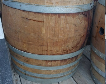 Authentic California Wine Barrel - 59 Gallons