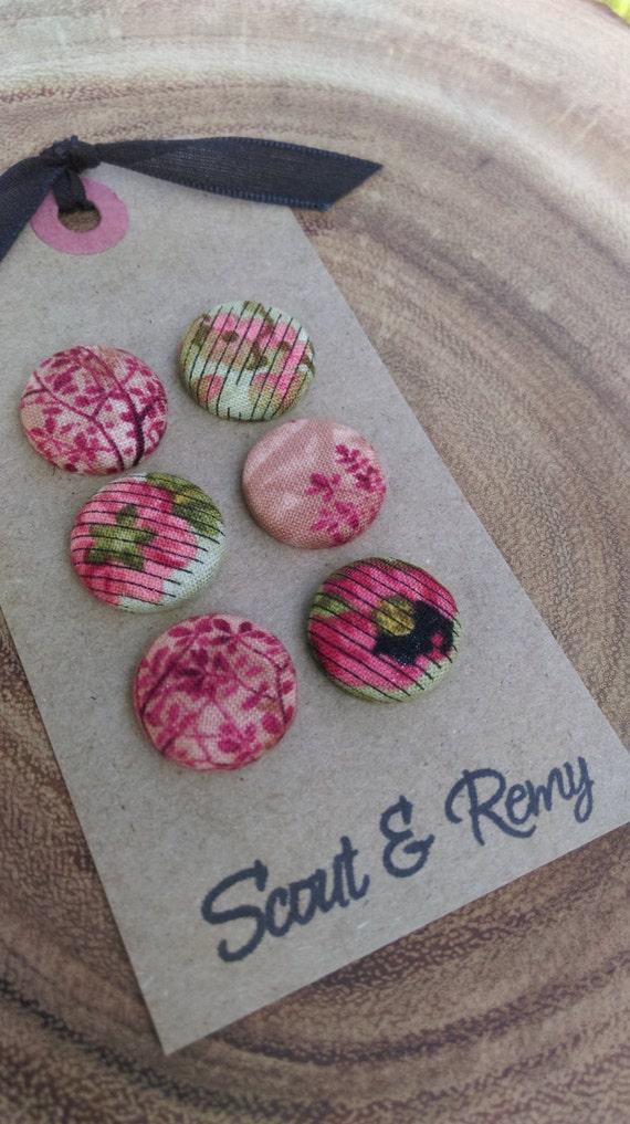 Floral Magnet Set