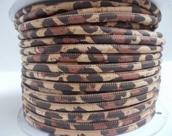 Natural leopardo Portuguse Cork,Cork Cord 3mm(1 Meter)