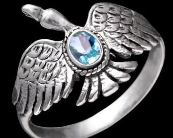 Silver Ring Aquila