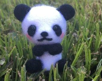 Needlefelted Panda