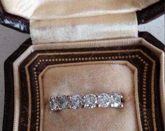 14k Gold 1.75ct Diamond Wedding Band