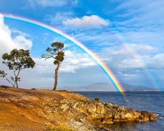 Double rainbow 9 Pins Tasmania