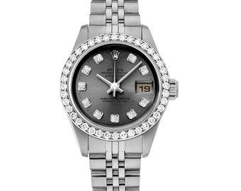 Rolex 69174 Datejust Ladies Diamond  Watch