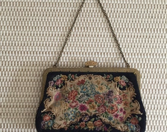 Vintage evening clutch/ handbag