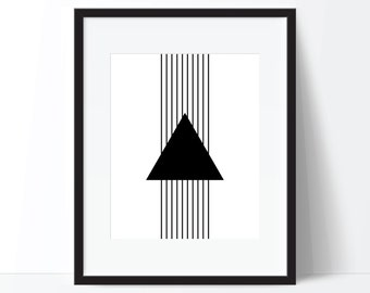 Geometric Print, Abstract Art, Geometric Art, Minimalist Art, Modern Print, Modern Art, Digital Download, Printable Wall Art, Digital Print